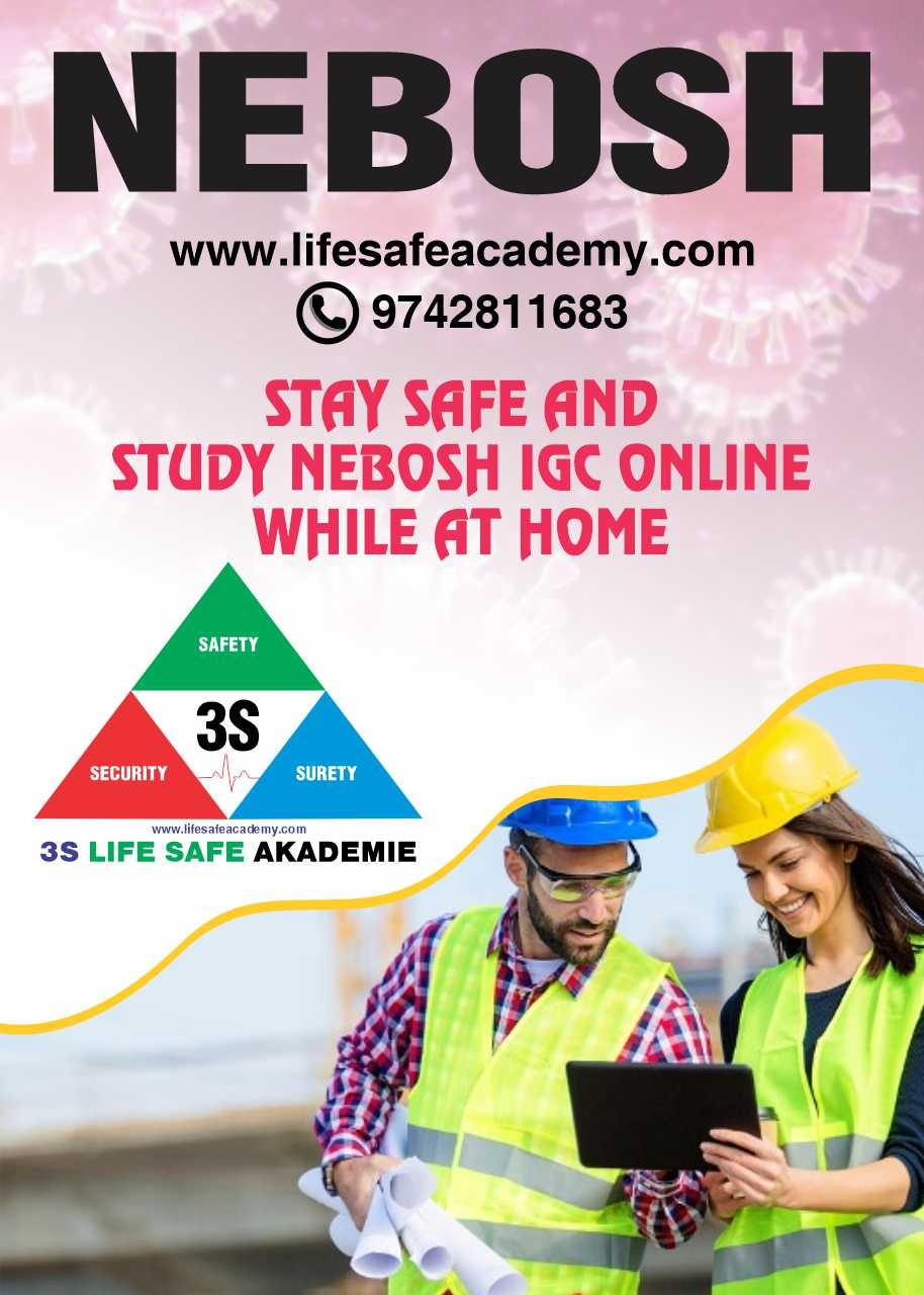 Stay safe and study NEBOSH IGC online while at home