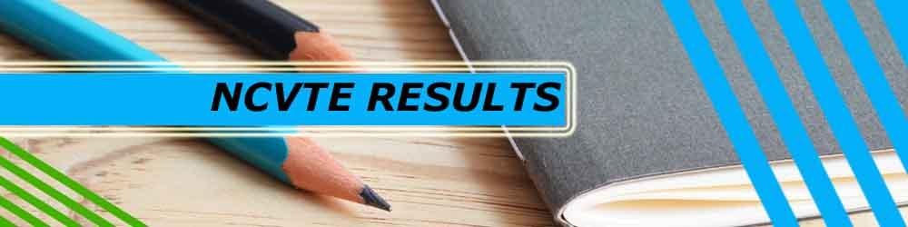 banner for ncvte results